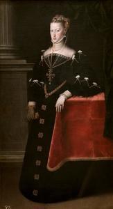 Portret van Maria van Habsburg (1528-1603)