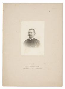 Portret van Johan Bernard In'tveld (1868-1947)