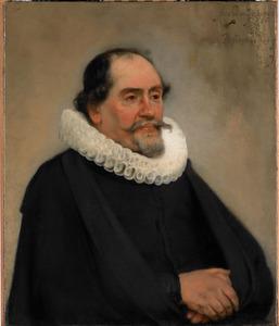 Portret van Abraham de Potter (1592-1650)