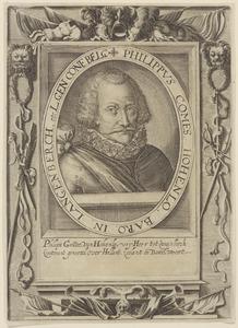 Portret van Philips von Hohenlohe zu Langenberg (1550-1606)