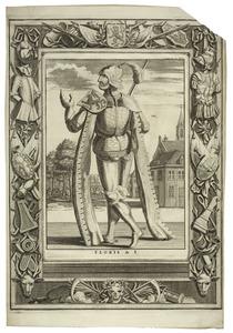 Portret van Floris I van Holland (1030-1061)
