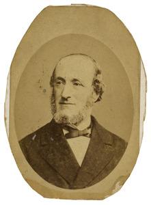 Portret van Henri Jacobus Haas (1824-1882)