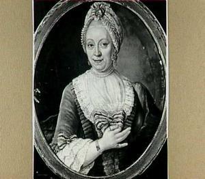 Portret van Immagonda van der Hart (1722-?), gehuwd met Duyvensz.