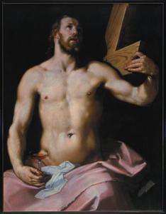 Christus met kelk en kruis