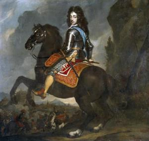 Ruiterportret van stadhouder-koning Willem III