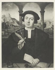 Portret van een notaris