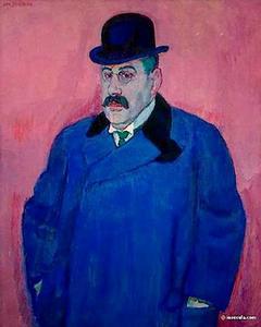 Portret van Salomon Beffie (1874-1958)
