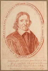 Portret van Samuel Maresius (1599-1673)