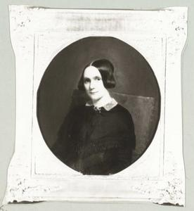 Portret van Isabelle Geertr. Johanna Marg. de Man (1818-1890)