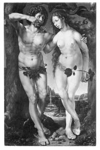 De zondeval: Adam eet de appel (Genesis 3:6)