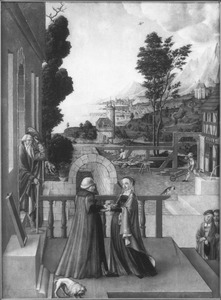 Maria bezoekt Elisabeth (Luc. 1:26-38)