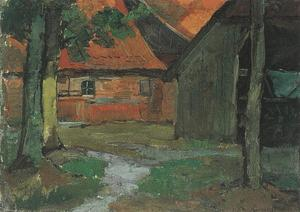 Farmyard with carriage barn in the Achterhoek