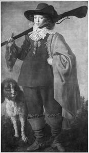 Portret van een jongen als jager