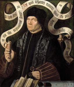 Portret van Jacob van Driebergen (1436-1509), deken van het kapittel van Sint Jan