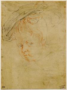 Studie van Frans Rubens (1614-1673)