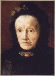 Portret van Frouwe Venema (1803-1889)