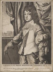 Portret van Karel II van Engeland als Prince of Wales