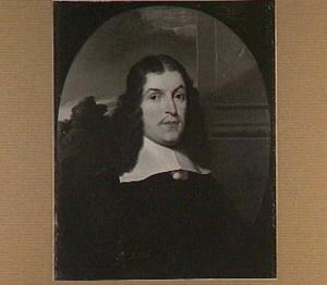 Portret van Daniel Voet (1629-1660), hoogleraar Redeneerkunde en Metafysica (1653-1660)