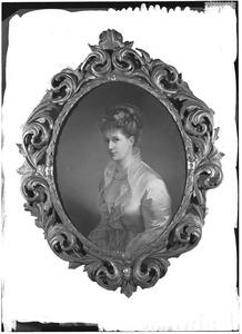 Portret van Carolina Frederica Groeninx van Zoelen (1836-1911)