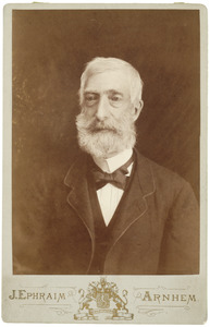 Portret van Frederik Robbert Toe Water (1811-1889)