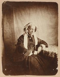 Portret van een vrouw, waarschijnlijk Henriette Sophie Enschedé (1790-1861)