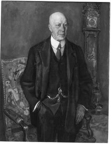 Portret van de heer A.C.R. Dreesmann