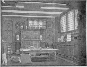 Atelier in het woonschip 'De Zwerver' van de schilder