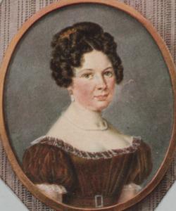 Portret van Caroline Sophia Staring (1801-1829)