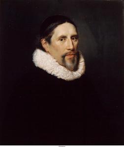 Portret van Arnoldus Geesteranus (1593-1658)