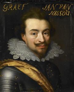 Portret van Jan VIII 'de Jongste' van Nassau -Siegen (1583-1638)