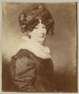 Portret van Julie Tutein (1783-1865)