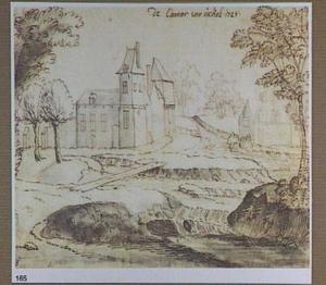 Een kasteel bij Ukkel
