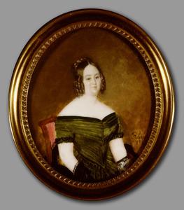 Portret van Felicitas Augusta Wijnstok (1809-1878)