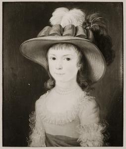 Portret van Johanna Louisa van Tets (1778-1864)