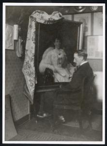 Sikemeier voor het portret van mevr. Ragnhild Lindberg-Clemens