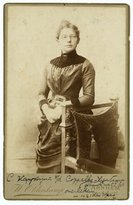 Portret van Cornelia Sara Kappeyne van de Coppello (1857-1921)