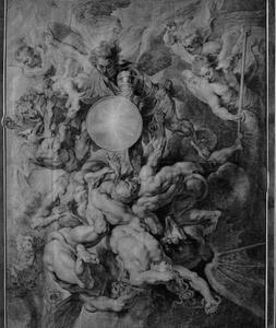 Heilige Michael verslaat de opstandige engelen