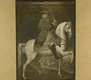 Portret van Charles Govert graaf Aspermont Lynden