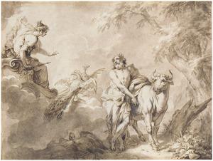 Juno, Jupiter, en Io veranderd in een koe (Metamorfosen 1: 639-663)
