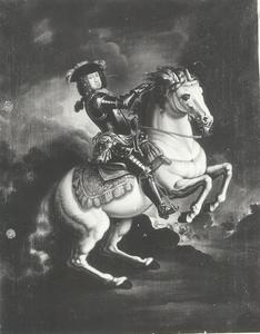 Ruiterportret van Karl III van Oostenrijk