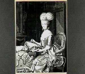 Portret van Arnolda Wilhelmina Brantsen (1751-1807)