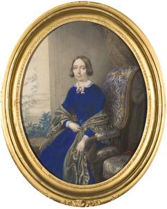 Portret van Henriette Jeanne Christine barones van Neukirchen genaamd Nijvenheim (1807-1849)