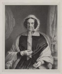 Portret van Maria Theodora van der Meersch (1771-1855)