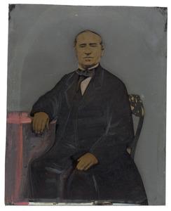 Portret van Willem Erkelens (1805-1874)