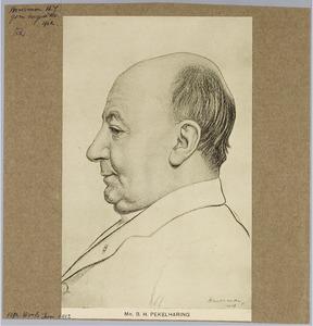 Portret van mr. B.H. Pekelharing