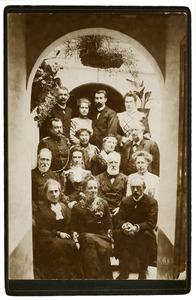 Portret van familie Van Vrijberghe de Coningh