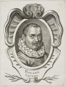 Portret van Roelant Savery (1576-1639)