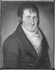 Portret van Johan Franciscus d' Aumerie (1779-1856)