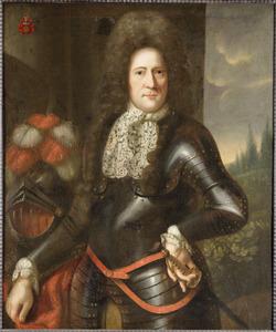 Portret van Frans Romswinckel (1653-1703)