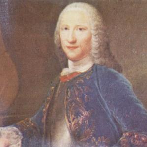Portret van Jan van Borssele (1707-1764)